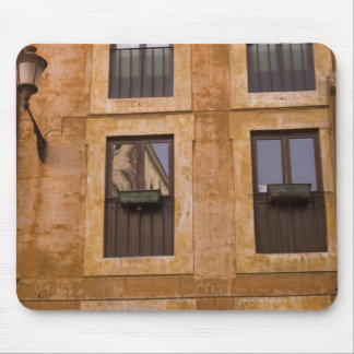 Apartment windows, Rome, Italy 2 Mouse Pad