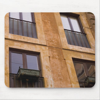 Apartment windows, Rome, Italy Mouse Pad