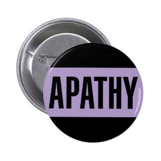Apathy 2 Inch Round Button