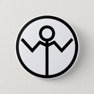 Apathy Corp 2 Inch Round Button