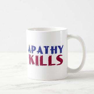 apathy kills mug