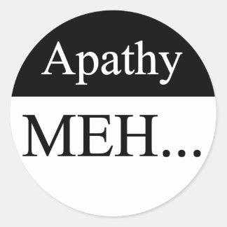 Apathy Sticker