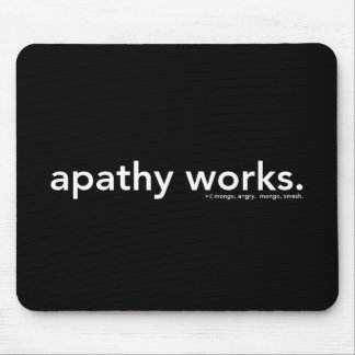 apathy works mouse pad