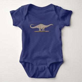 Apatosaurus Baby Bodysuit