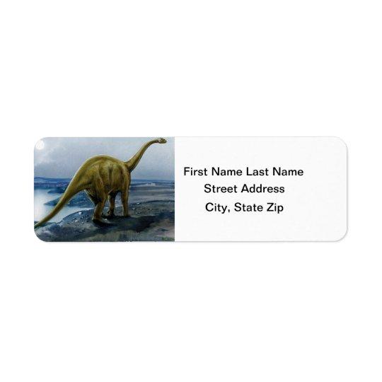 Apatosaurus (Brontosaurus) Illustration