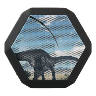 Apatosaurus dinosaur in the desert - 3D render Black Bluetooth Speaker