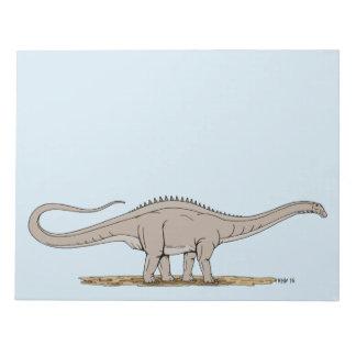 Apatosaurus Notepad
