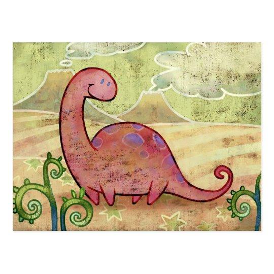 Apatosaurus Post Card