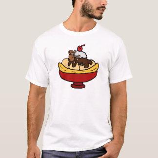Ape Climbing Banana Split Dessert T-Shirt