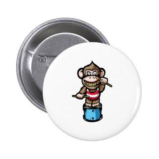 Ape Drum 2 Inch Round Button