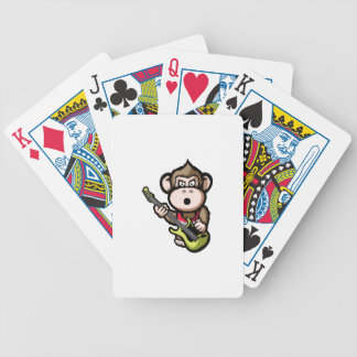 Ape Guitar Bicycle Playing Cards