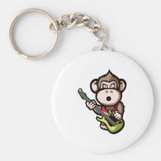 Ape Guitar Keychain