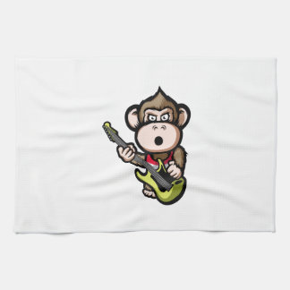 Ape Guitar Kitchen Towel