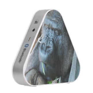 Ape hood ~ Japanese Gorilla Eating Blueooth Speaker