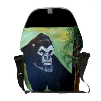 APE IN THE WILD COURIER BAGS