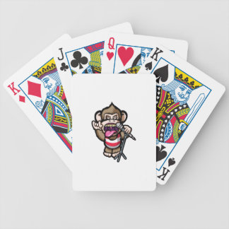 Ape Mic Bicycle Playing Cards