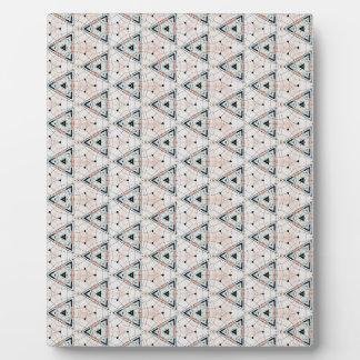 Apelike Snowplough Pattern Plaque