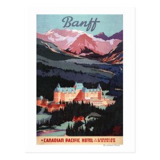 Aperçu de l affiche de Fairmont Banff Springs Cartes Postales