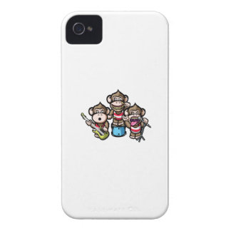 Apes Rock iPhone 4 Covers