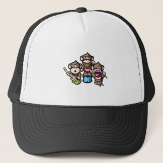 Apes Rock Trucker Hat