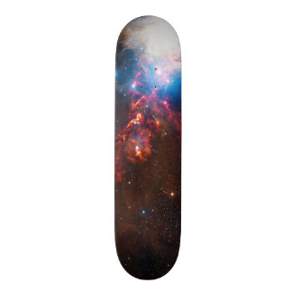 APEX View of a Star Formation in the Orion Nebula Skate Deck