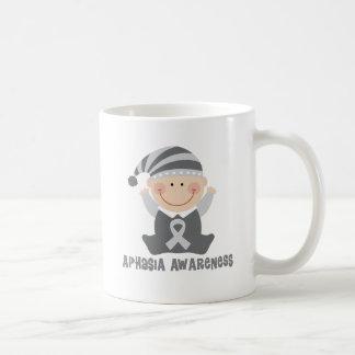 Aphasia Awareness Cute Support Mug