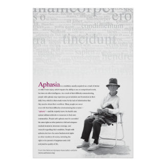 Aphasia Poster