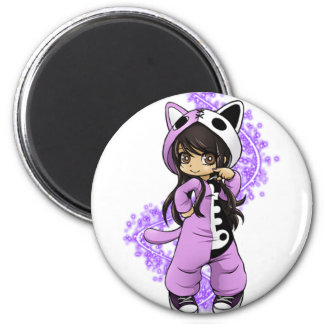 Aphmau Official Limited Edition 2 Inch Round Magnet