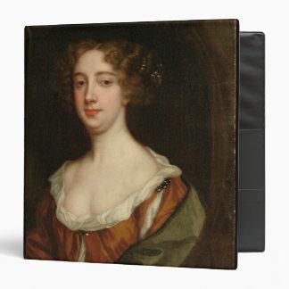 Aphra Behn (1640-89) (oil on canvas) 3 Ring Binder