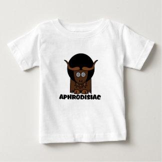 Aphrodisiac Funny Afro Dizzy Yak Baby T-Shirt