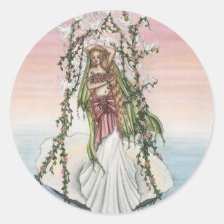 Aphrodite Classic Round Sticker