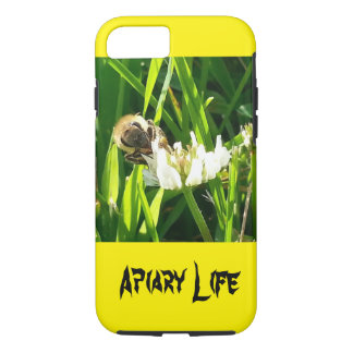 Apiary Life iPhone 7 case Honey bee on flower
