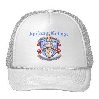 apifooushield trucker hat
