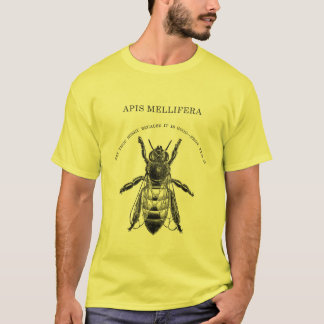 Apis Mellafera Honey Bee Beekeeping T-Shirt