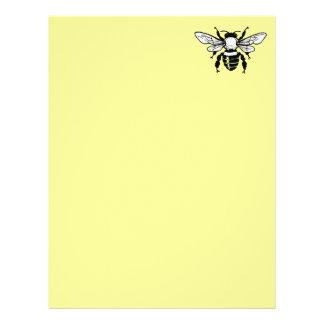 Apis Mellifera Honeybee Letterhead Paper 2