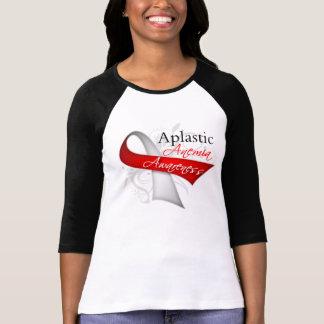 Aplastic Anemia Awareness Ribbon Tee Shirt