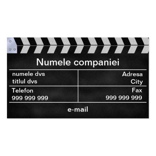 aplaude cinema business card