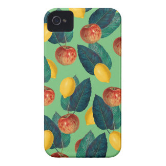 aples and lemons green iPhone 4 case