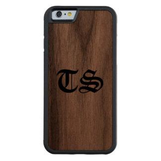 Aplle Lilith Santis Walnut iPhone 6 Bumper Case