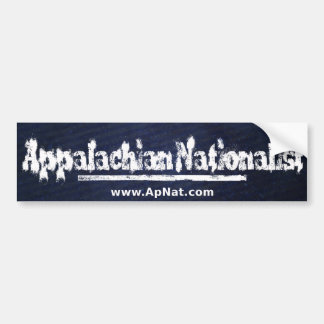 ApNat Bumpersticker Bumper Sticker