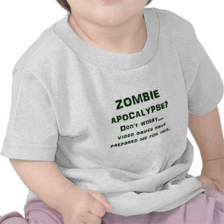 APOCALYPSE DE ZOMBI ? N'inquiétez pas… les jeux T-shirt