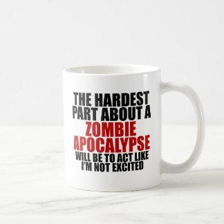 Apocalypse de zombi tasses à café