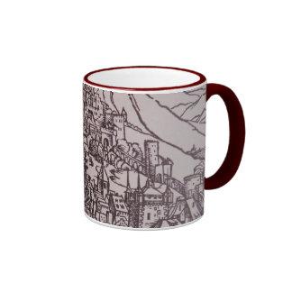 Apocalypse: Medieval city Ringer Mug