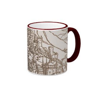 Apocalypse - Medieval city Ringer Mug