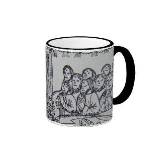 Apocalypse: Medieval scene Ringer Mug