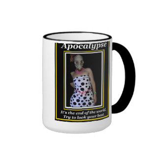 Apocalypse: Try to look your best Ringer Mug