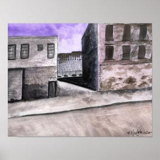 Apocalyptic Cityscape - Poster
