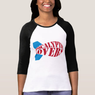 Apocalyptic Lovers Womens 3/4 T-Shirt