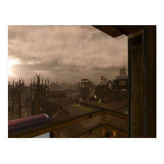 Apocalyptic postcard