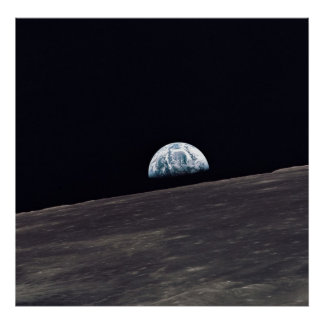 Apollo 10 Earthrise Poster